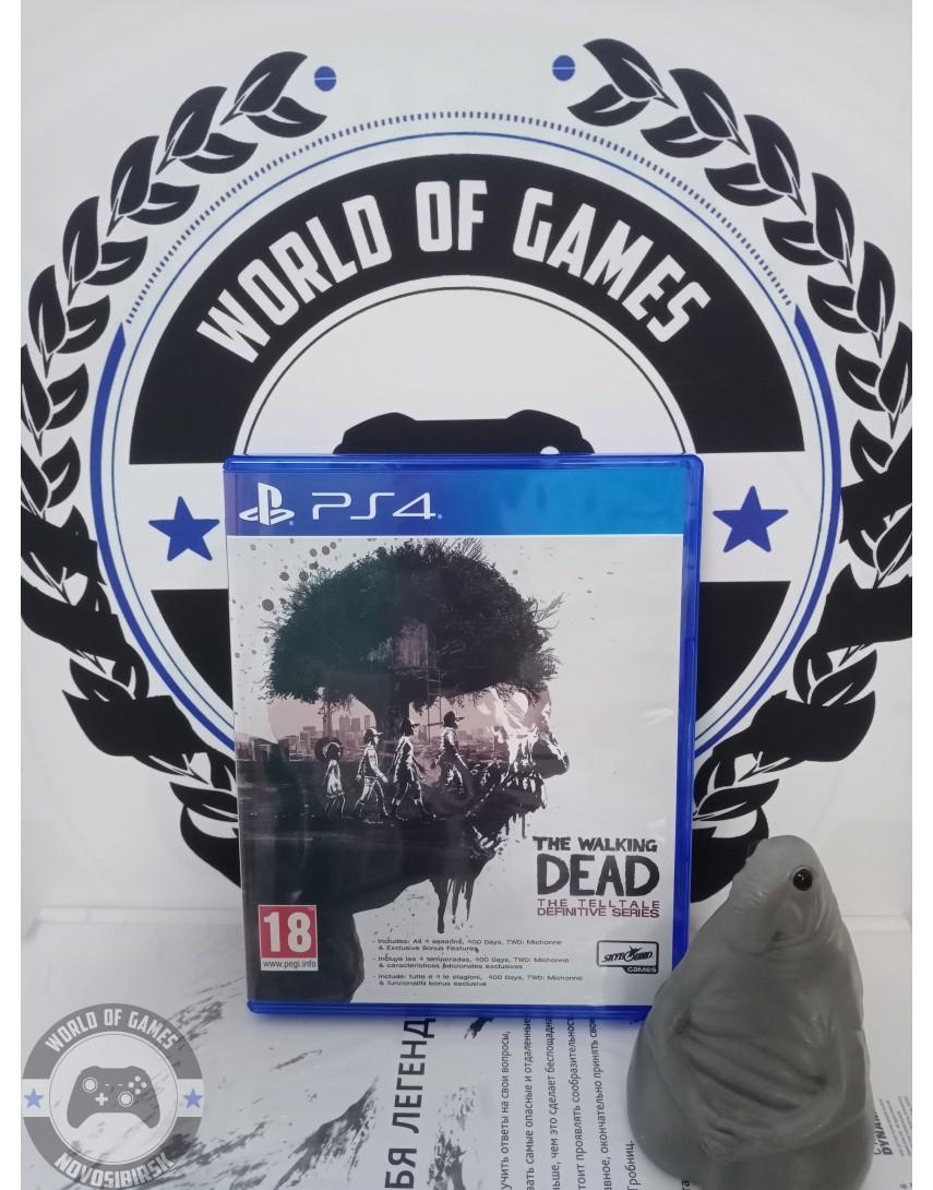 Купить The Walking Dead Definitive Edition [PS4] в Новосибирске