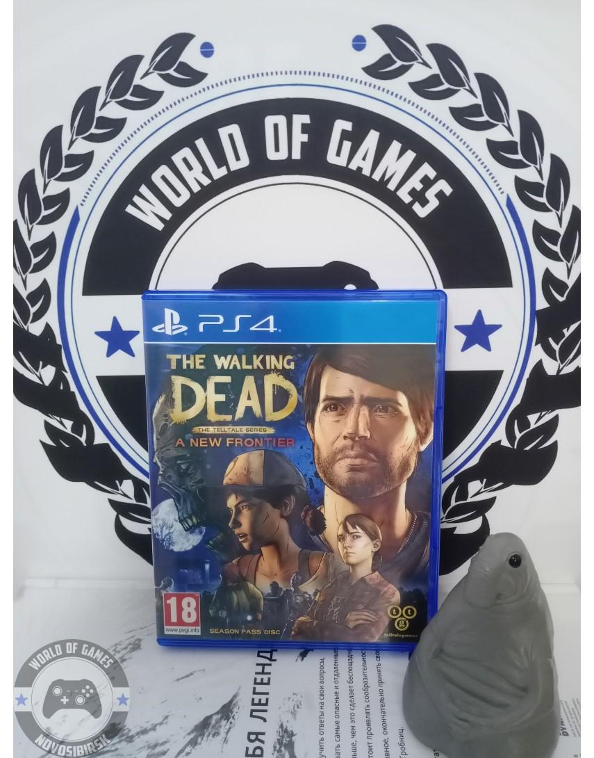 Купить The Walking Dead A New Frontier [PS4] в Новосибирске