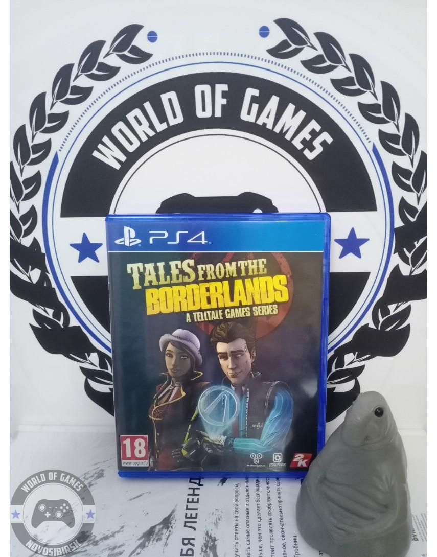 Купить Tales from the Borderlands A Telltale Games Series [PS4] в Новосибирске