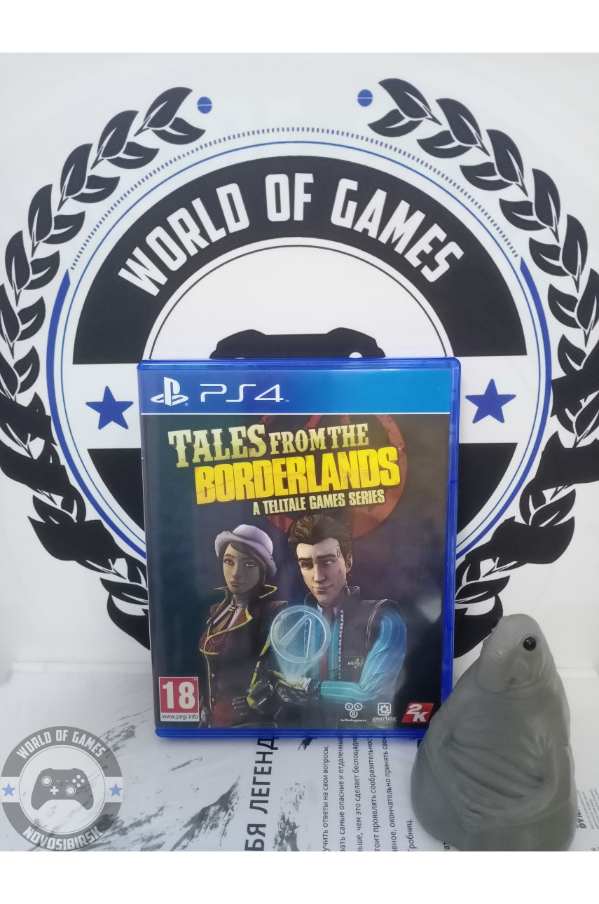 Tales from the Borderlands A Telltale Games Series [PS4]