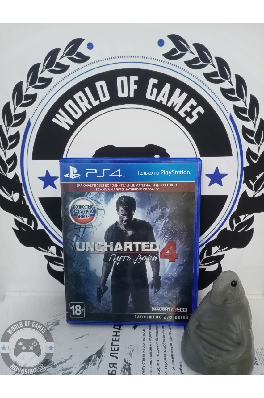 Uncharted 4 A Thief's End [PS4]