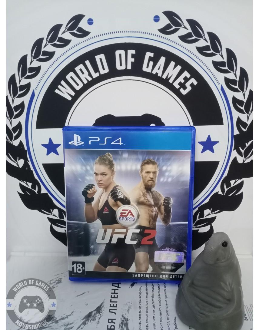 Купить UFC 2 [PS4] в Новосибирске