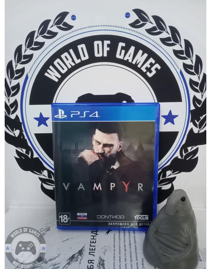 Купить Vampyr [PS4] в Новосибирске