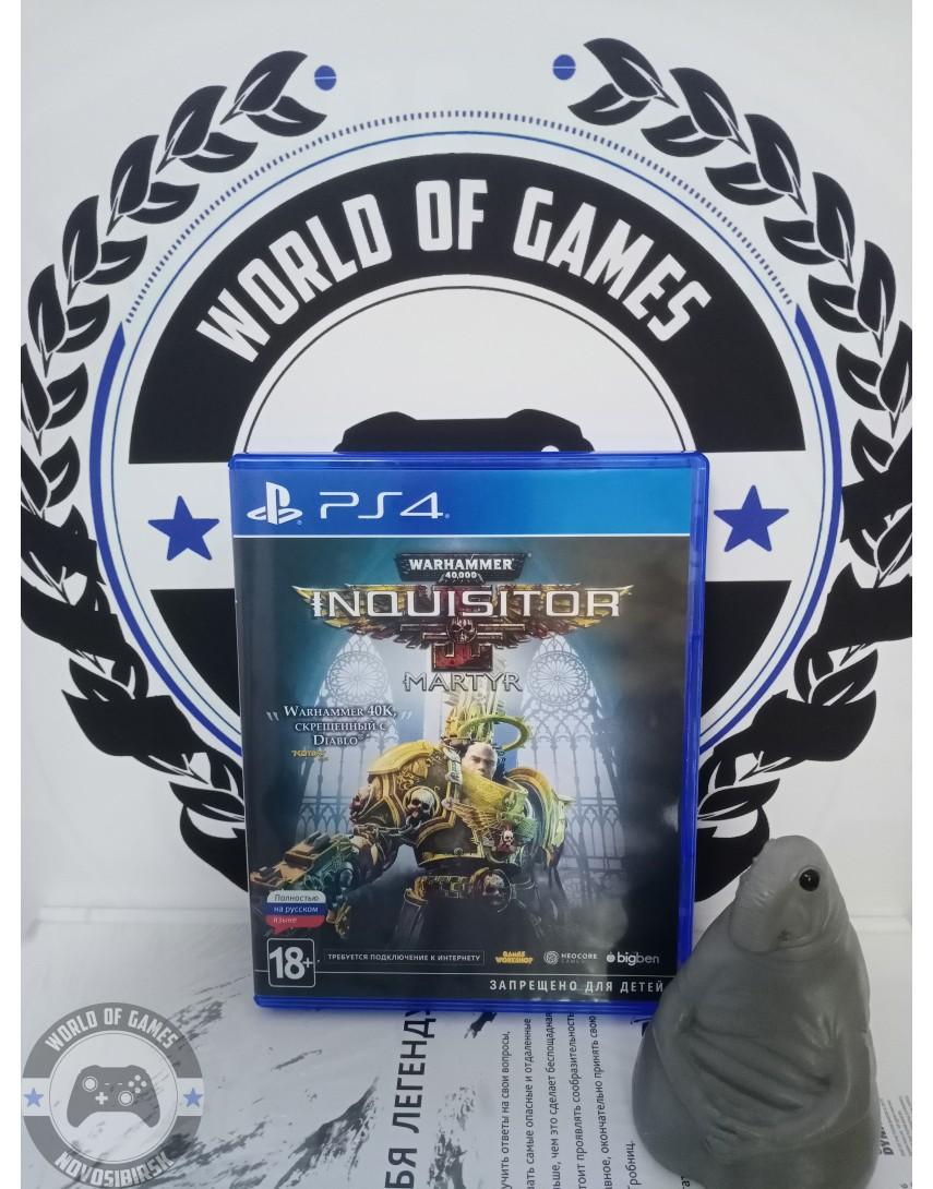 Купить Warhammer 40,000 Inquisitor - Martyr [PS4] в Новосибирске