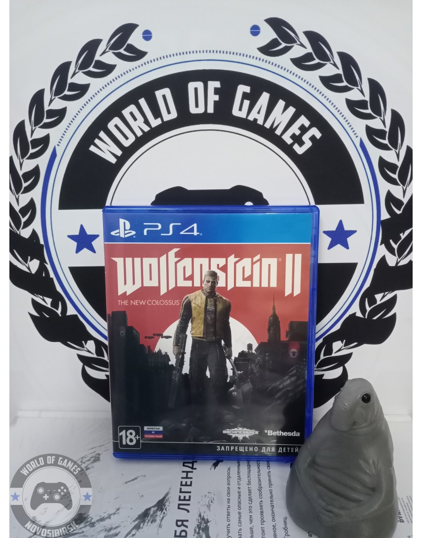 Wolfenstein 2 The New Colossus [PS4]