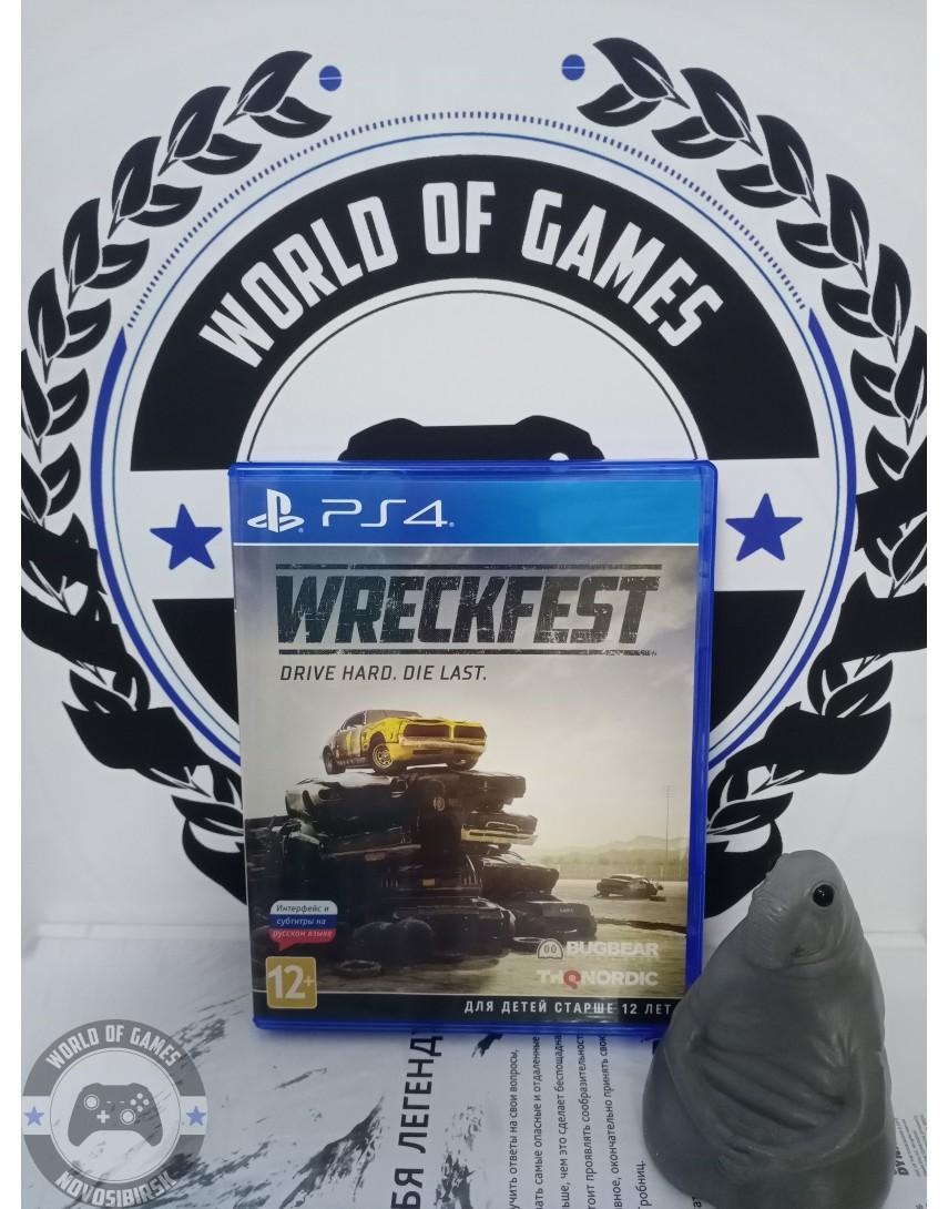 Купить Wreckfest [PS4] в Новосибирске
