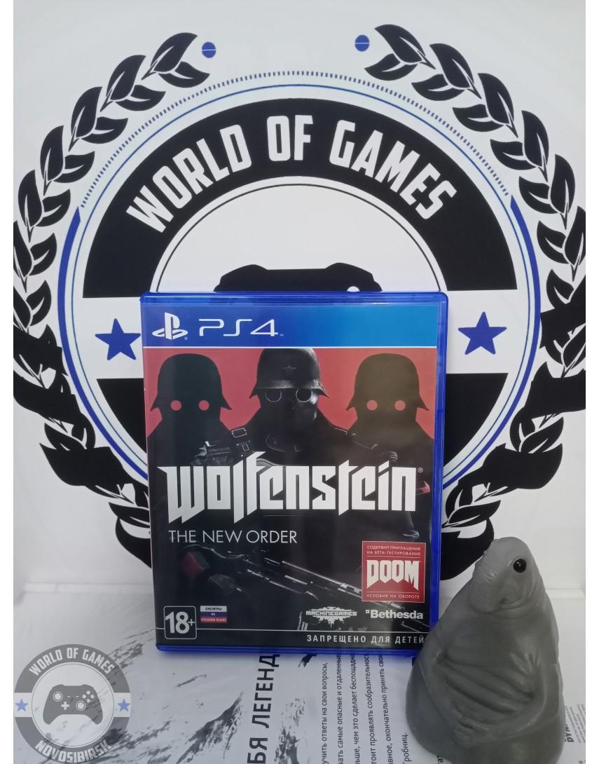 Купить Wolfenstein The New Order [PS4] в Новосибирске