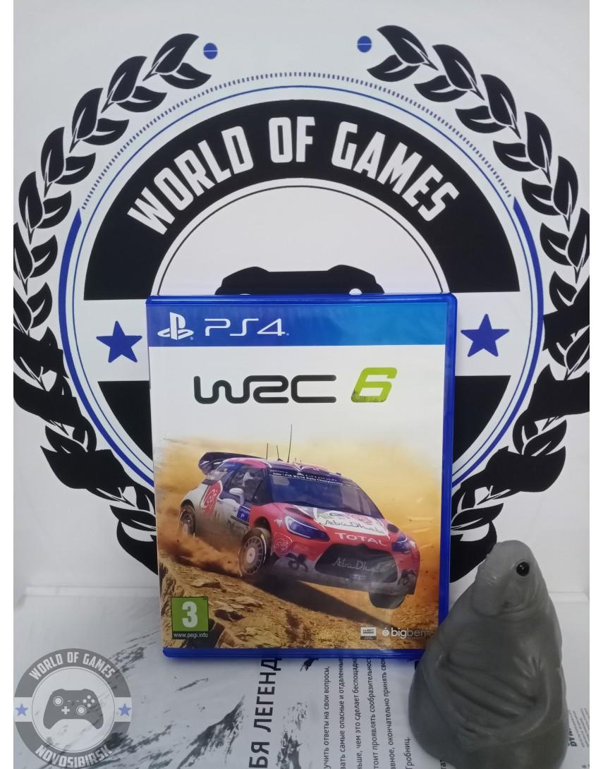 Купить WRC 6 [PS4] в Новосибирске