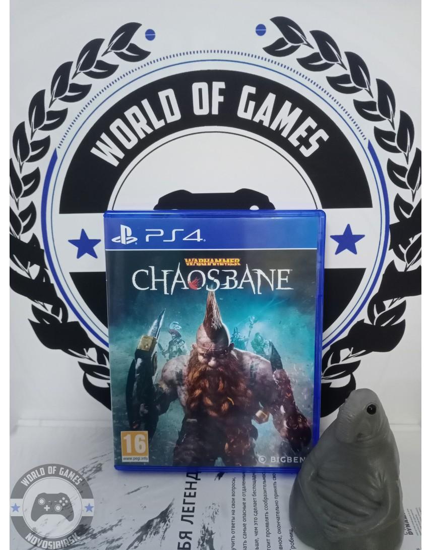 Купить Warhammer Chaosbane [PS4] в Новосибирске