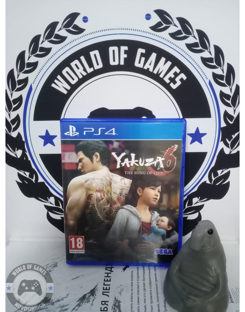 Купить Yakuza 6 The Song of Life [PS4] в Новосибирске