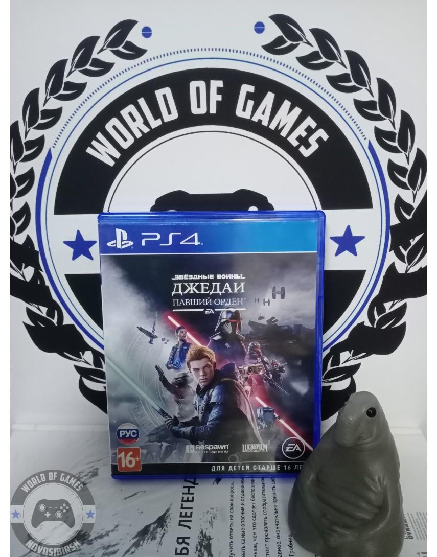 Купить Звездные Войны Джедаи Павший Орден [PS4] в Новосибирске