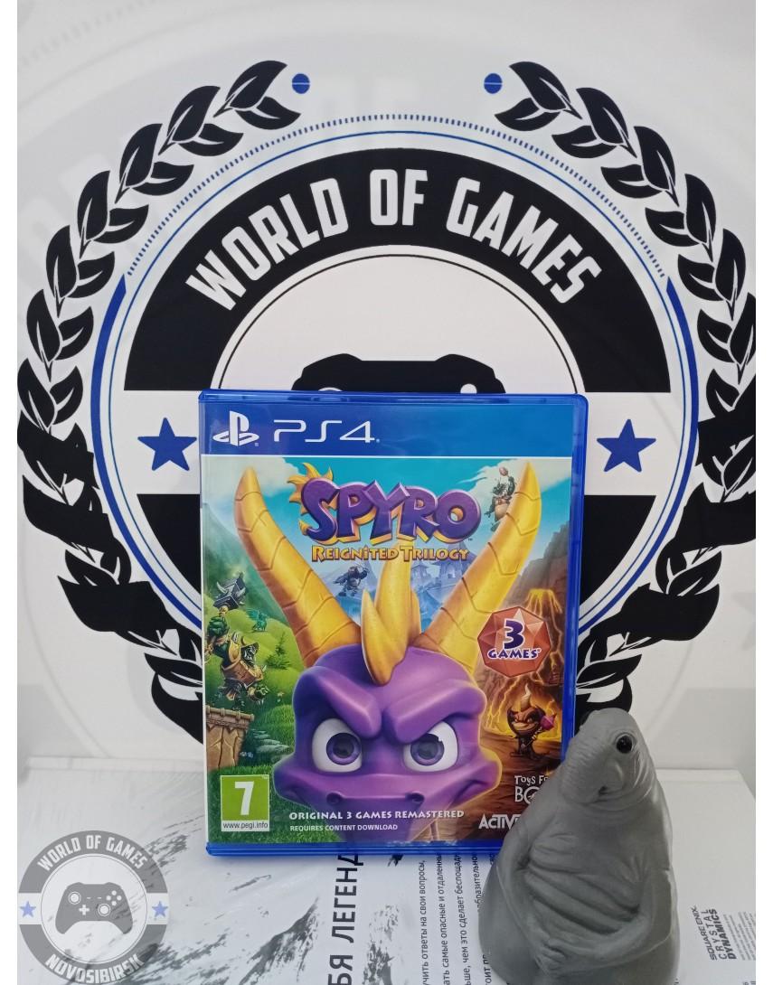 Купить Spyro Reignited Trilogy [PS4] в Новосибирске