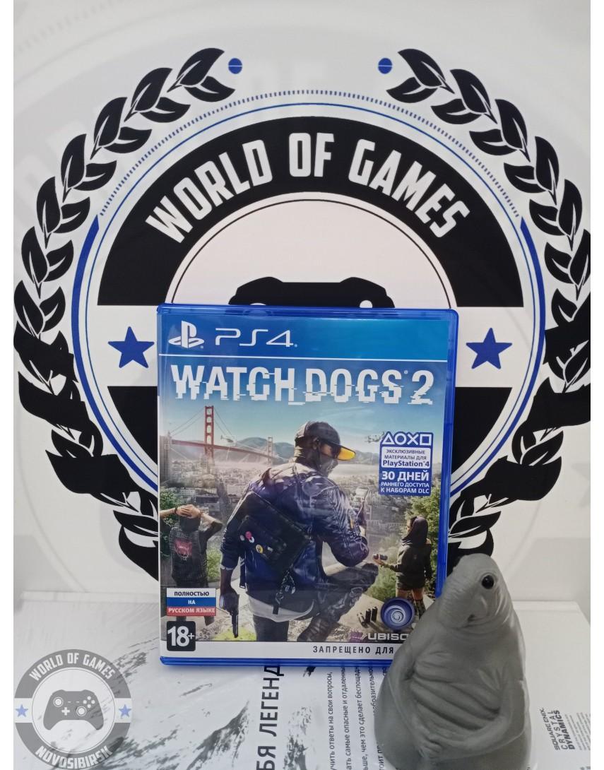 Купить Watch Dogs 2 [PS4] в Новосибирске