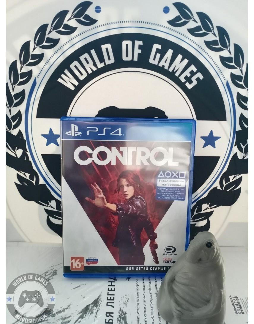 Купить Control [PS4] в Новосибирске