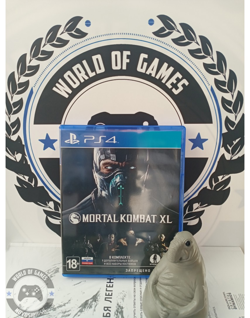 Купить Mortal Kombat XL [PS4] в Новосибирске