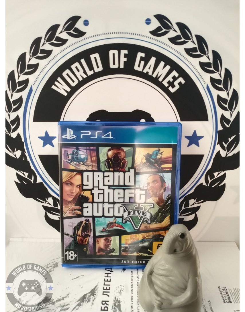 Grand Theft Auto 5 (GTA 5) [PS4]
