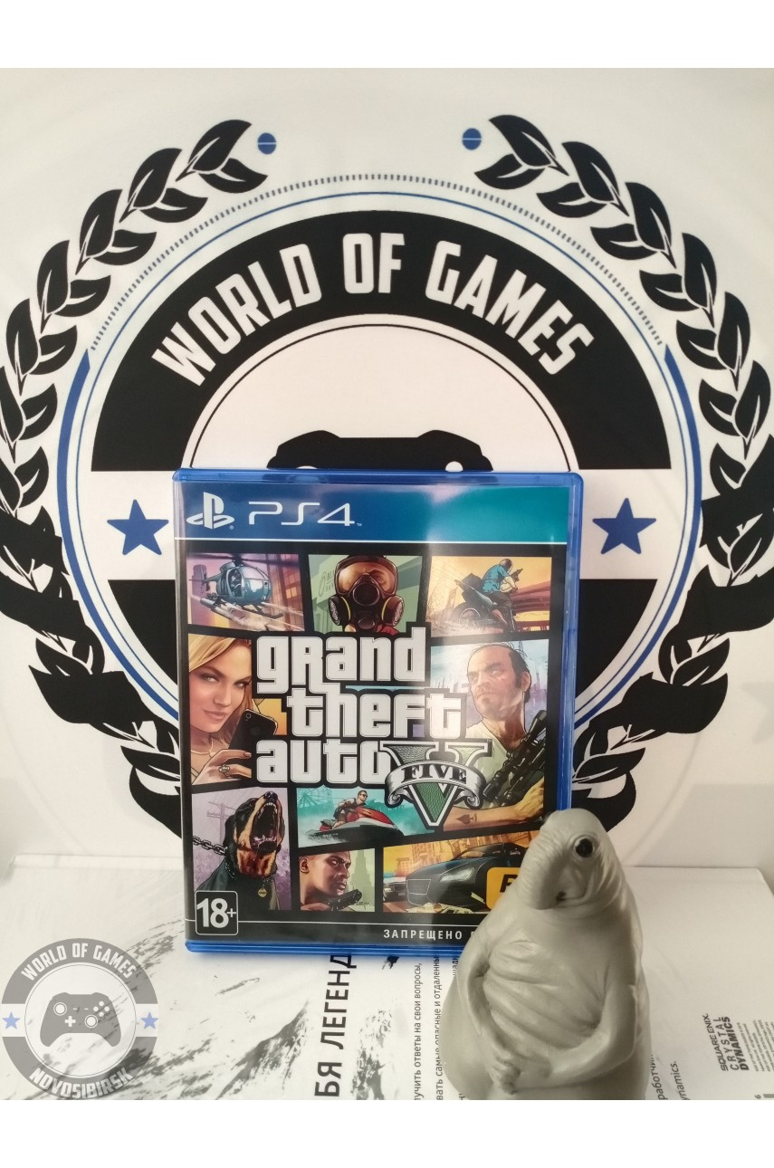 Grand Theft Auto 5 (GTA 5) [PS4]