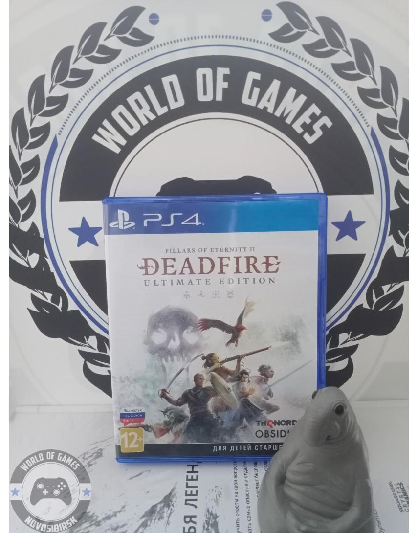 Купить Pillars of Eternity 2 Deadfire [PS4] в Новосибирске