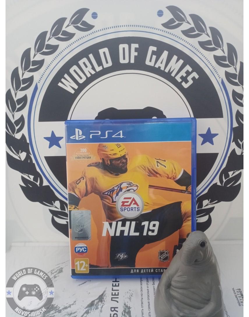 Купить NHL 19 [PS4] в Новосибирске