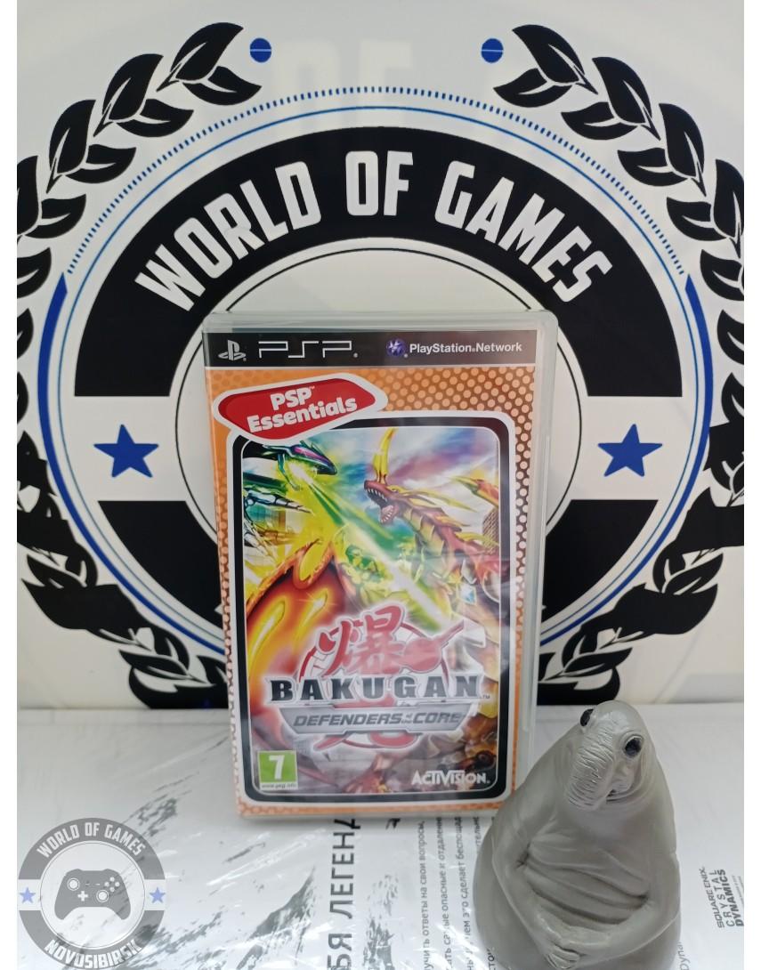 Bakugan Battle Brawlers Defenders of the Core [PSP]