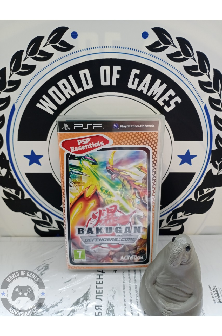 Bakugan Battle Brawlers Defenders of the Core [PSP]