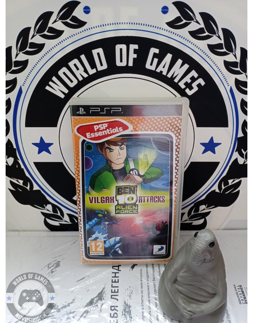 Ben 10 Alien Force Vilgax Attacks [PSP]
