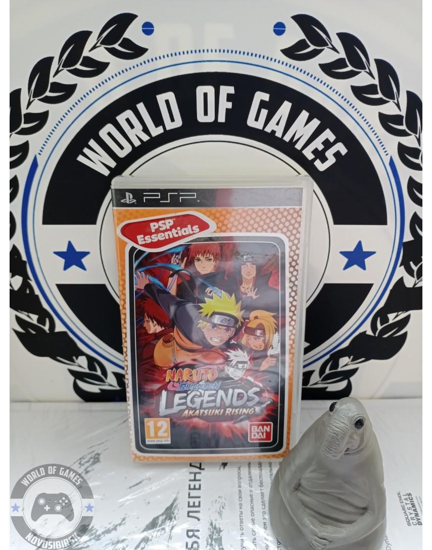 Naruto Shippuden Legends Akatsuki Rising [PSP]