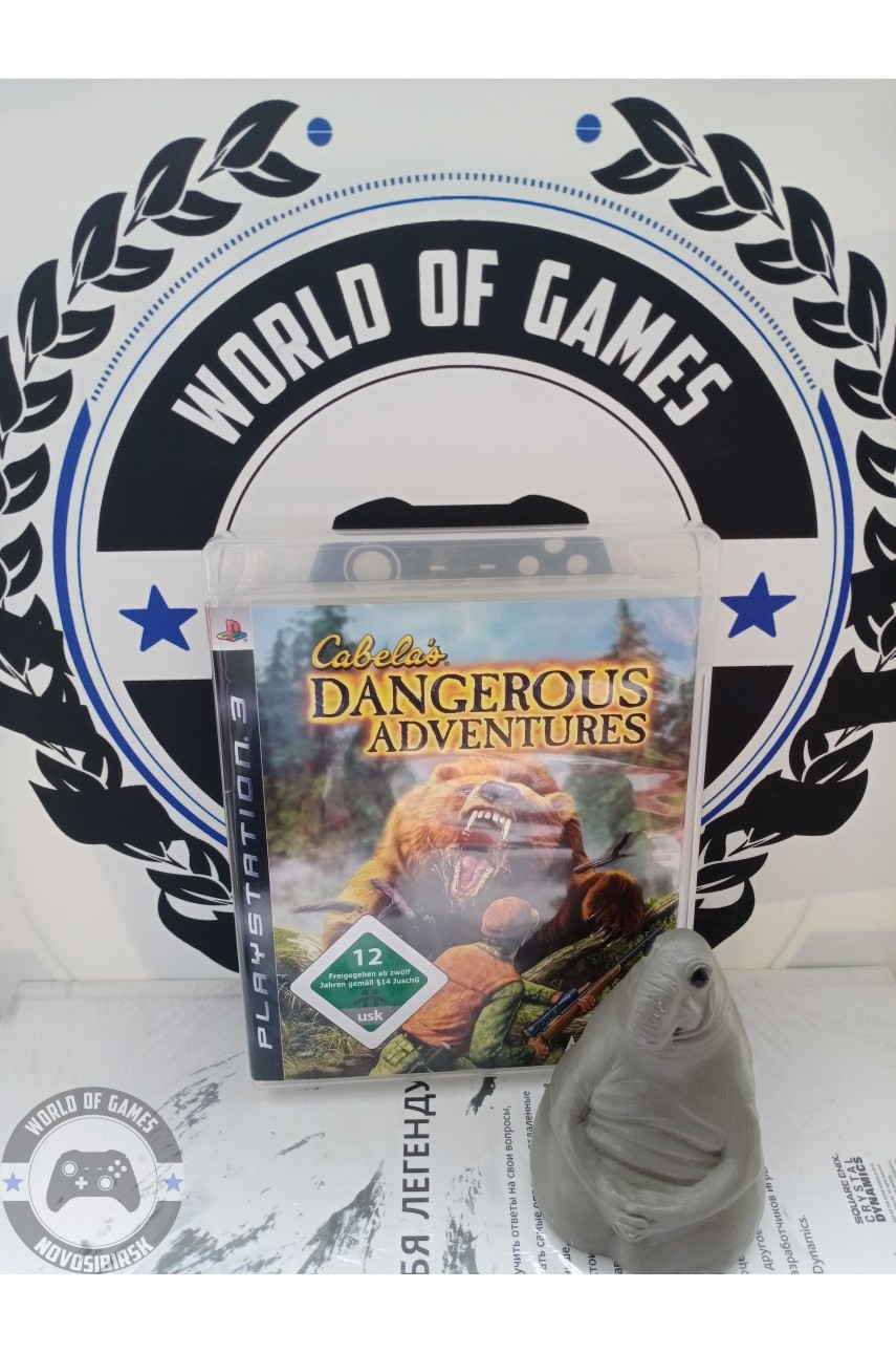 Cabela's Dungerous Adventures [PS3]