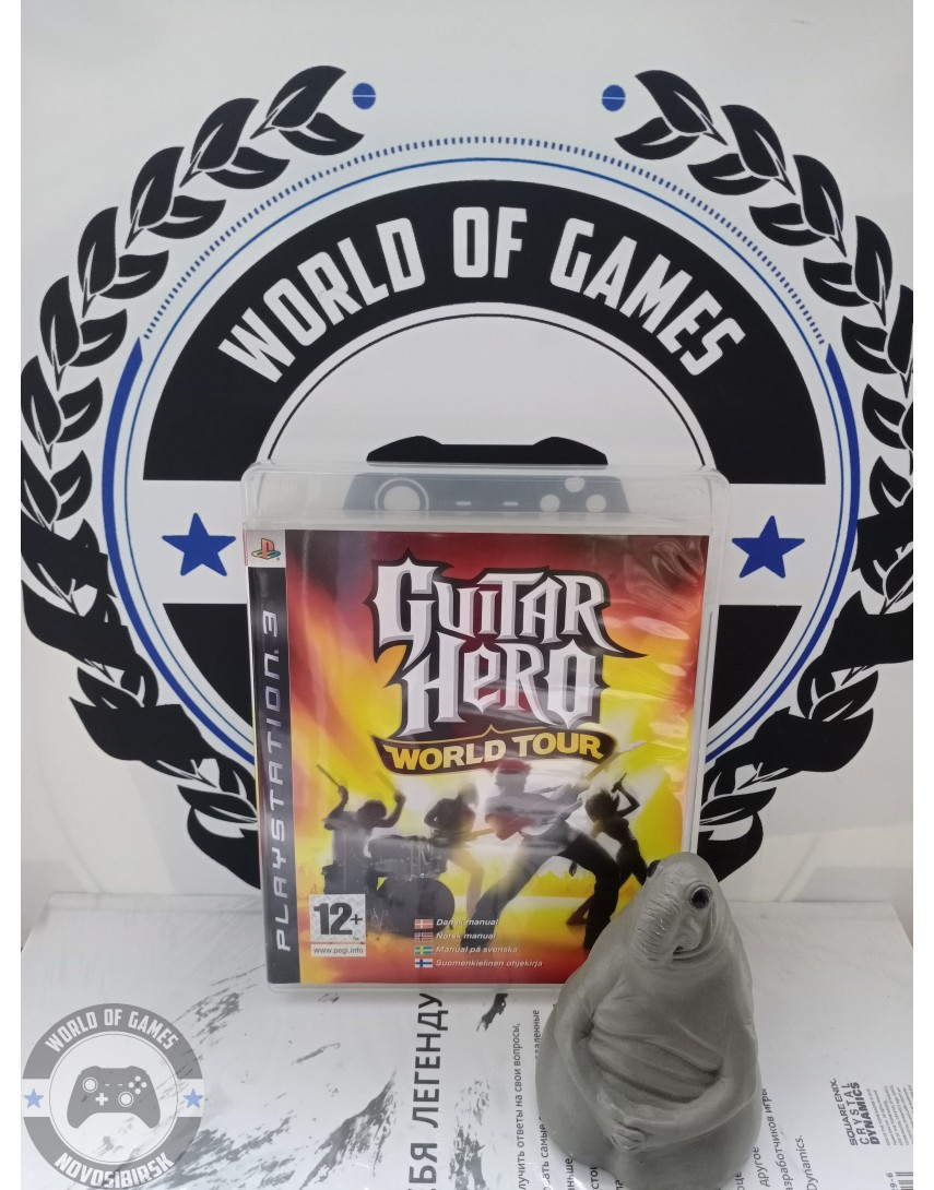 Guitar Hero 4 World Tour [PS3]