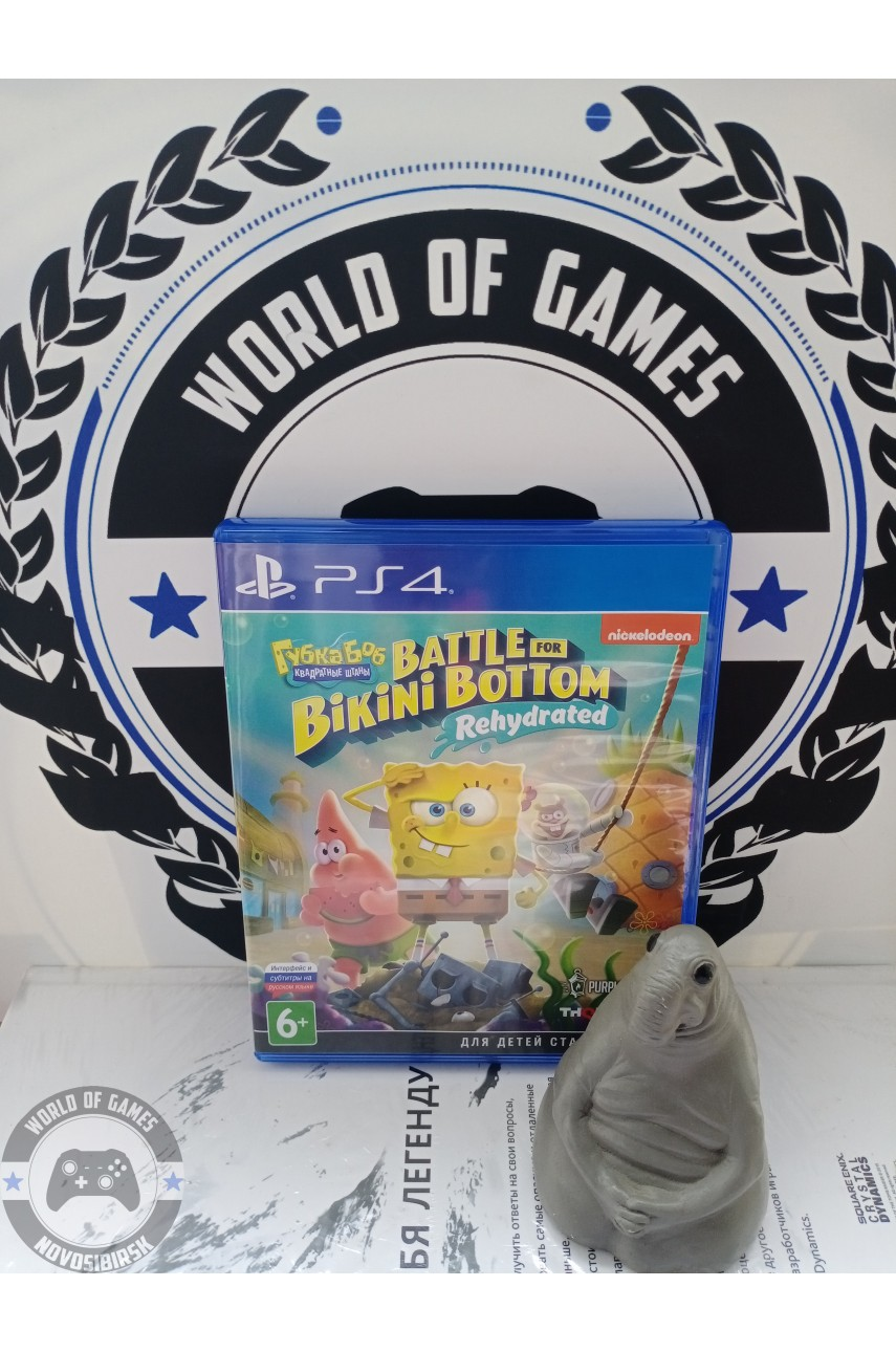 Губка Боб Квадратные Штаны Битва за Бикини Боттом [PS4]