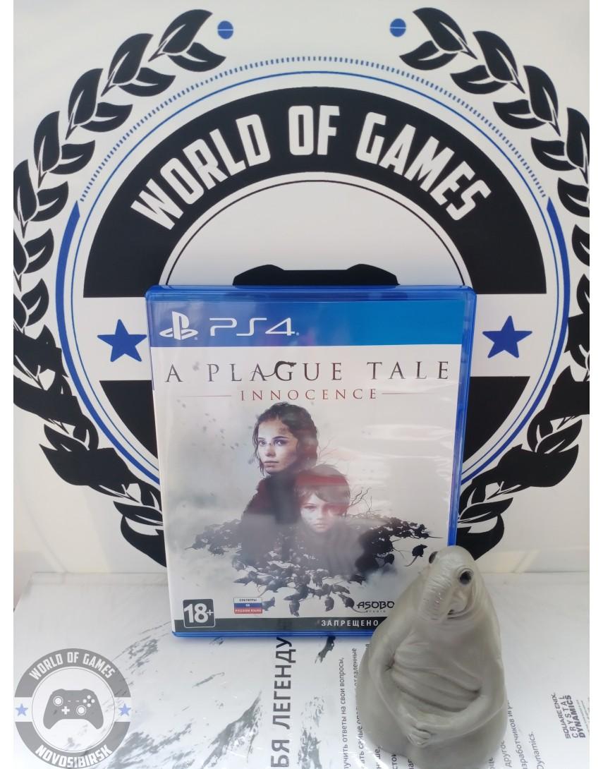 A Plague Tale Innocence [PS4]