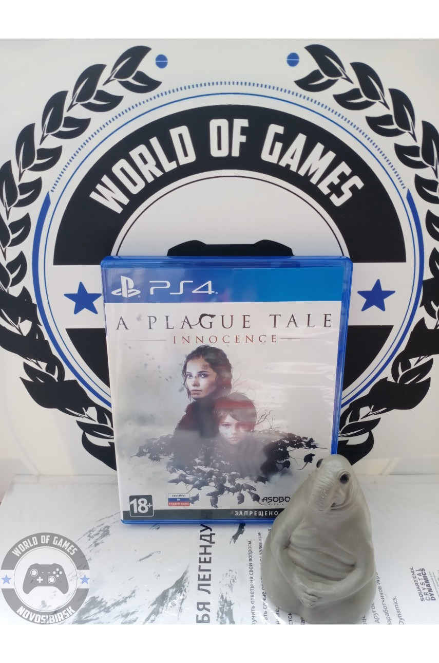 A Plague Tale Innocence [PS4]