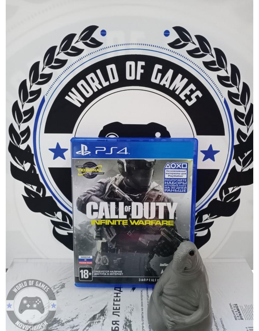 Купить Call of Duty Infinite Warfare [PS4] в Новосибирске
