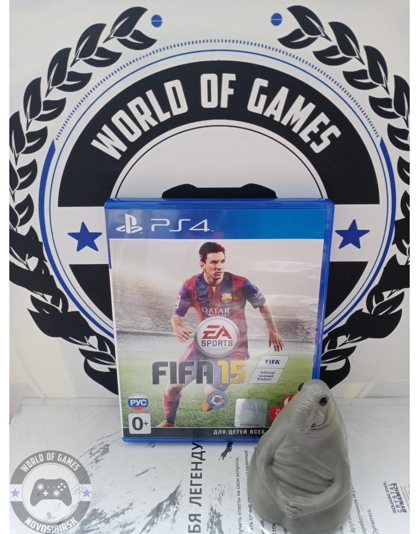 Купить FIFA 15 [PS4] в Новосибирске