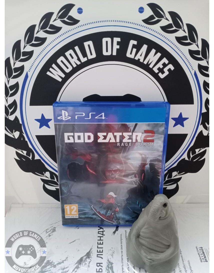 Купить God Eater 2 Rage Burst [PS4] в Новосибирске