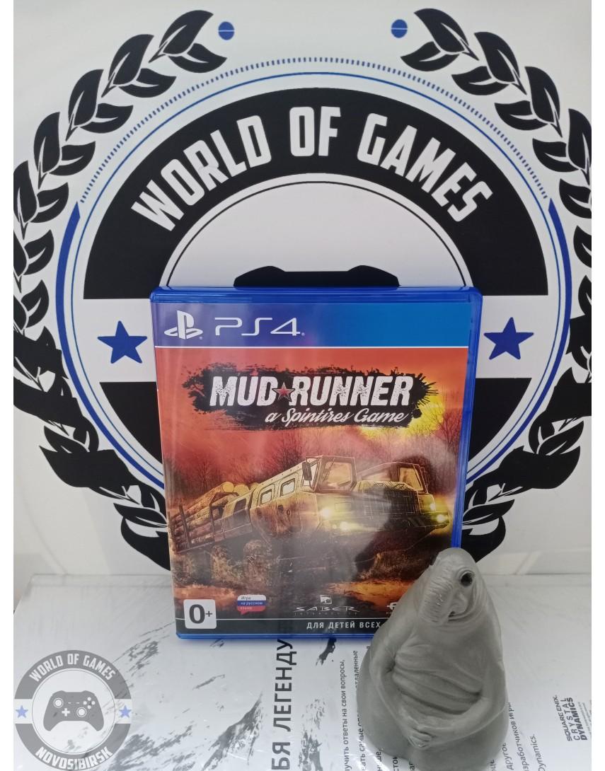 Купить Spintires MudRunner [PS4] в Новосибирске