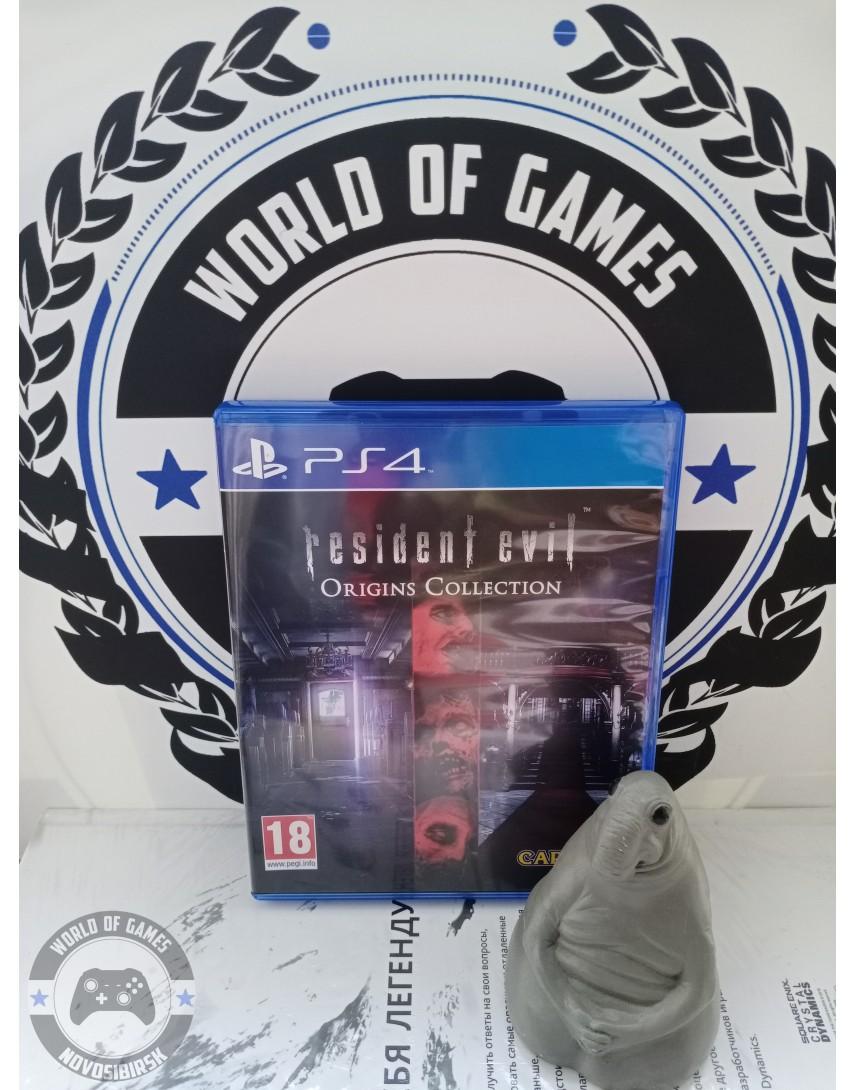 Купить Resident Evil Origins Collection [PS4] в Новосибирске