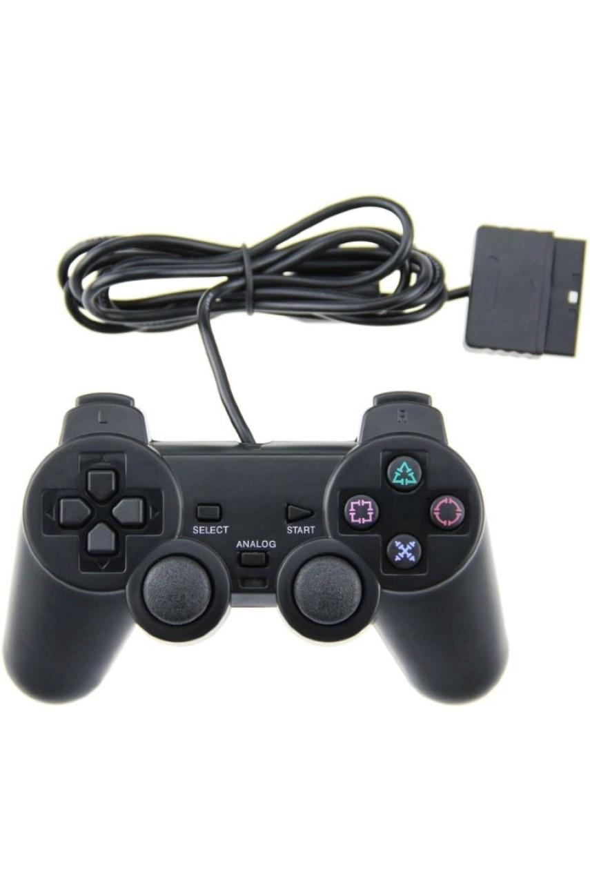 Геймпад для PS2 Dualshock 2 проводной (В ассортименте)