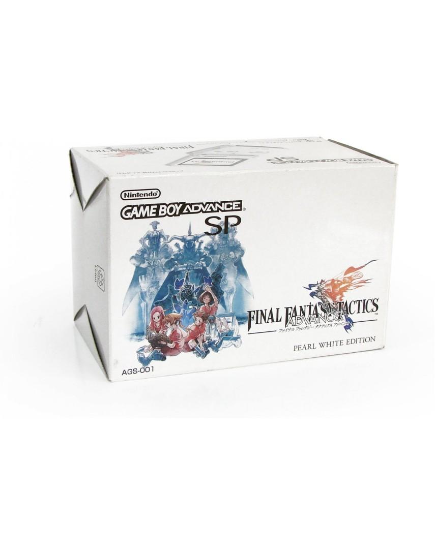 Игровая консоль Game Boy Advance SP + Final Fantasy Tactics (Б/У)