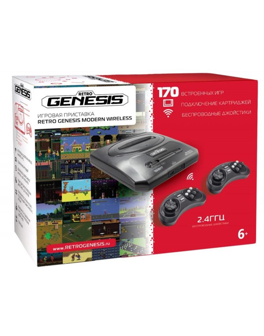 Игровая консоль Retro Genesis 16Bit + 170 Игр (New)