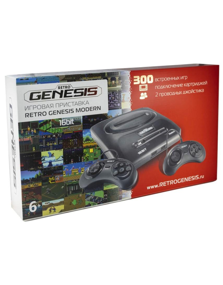 Игровая консоль Retro Genesis 16Bit + 300 Игр (New)