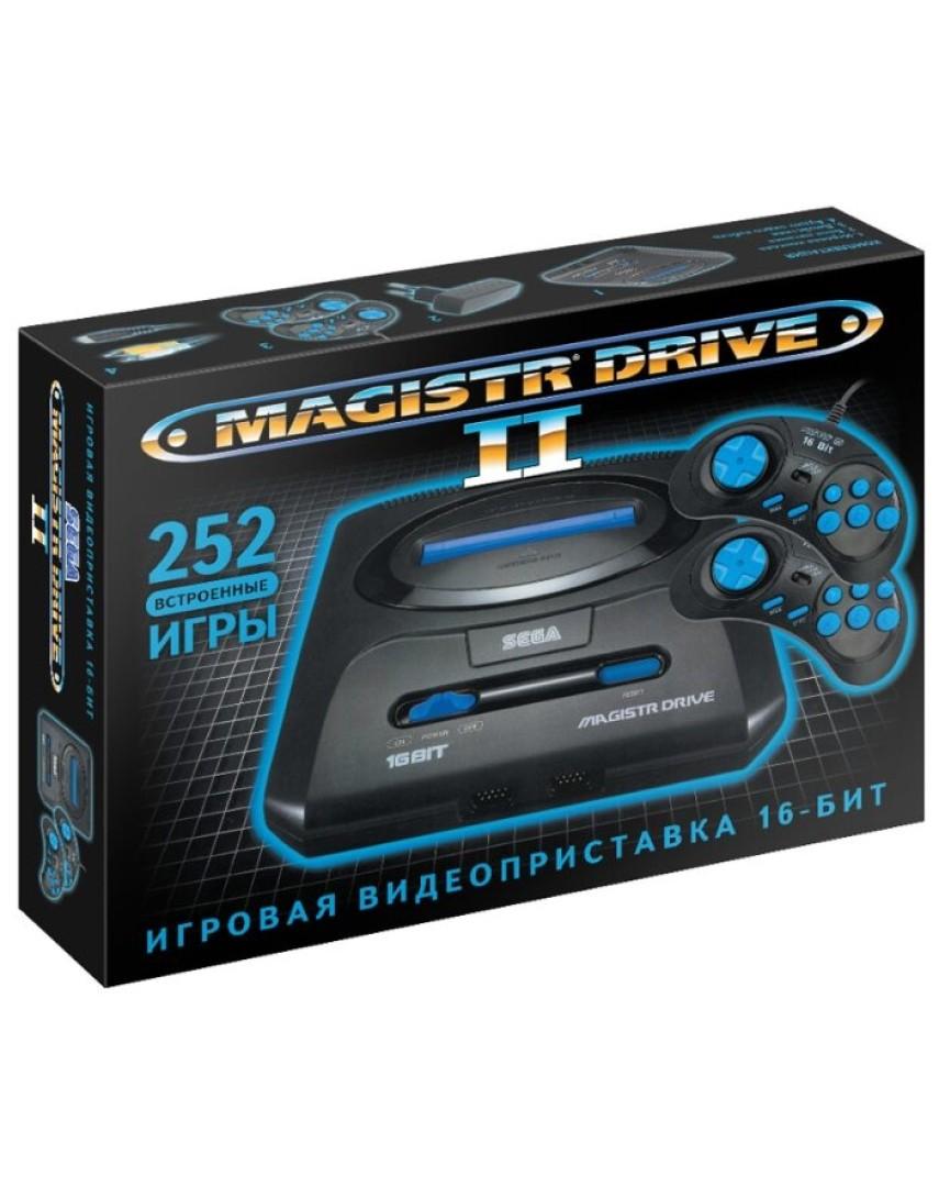 Игровая консоль Magistr Drive 2 16Bit + 252 Игр (New)