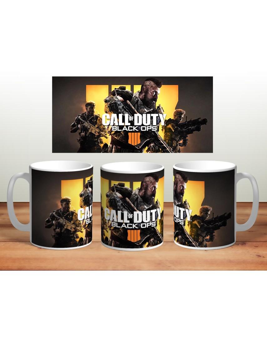 Кружка Call of Duty Black Ops 4