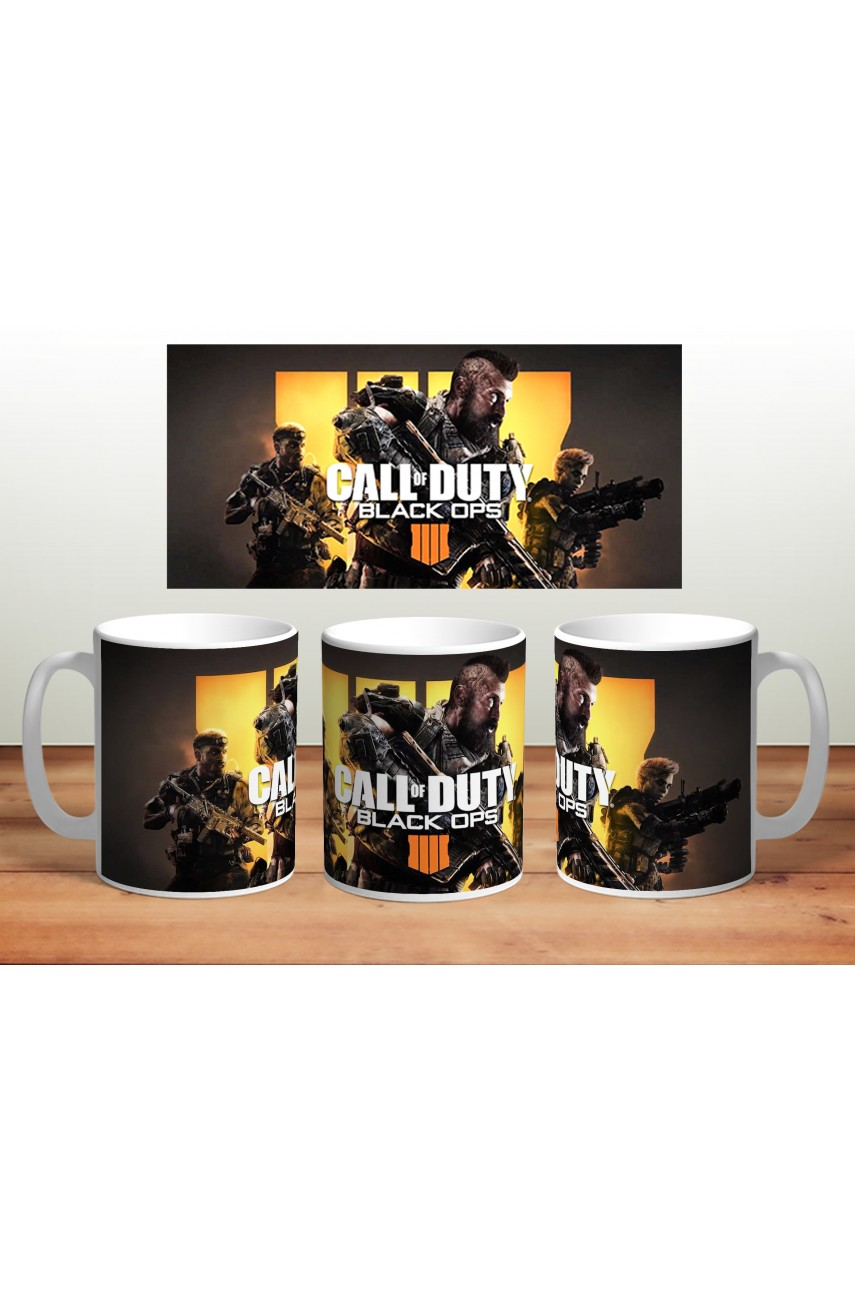 Кружка Call of Duty Black Ops 4