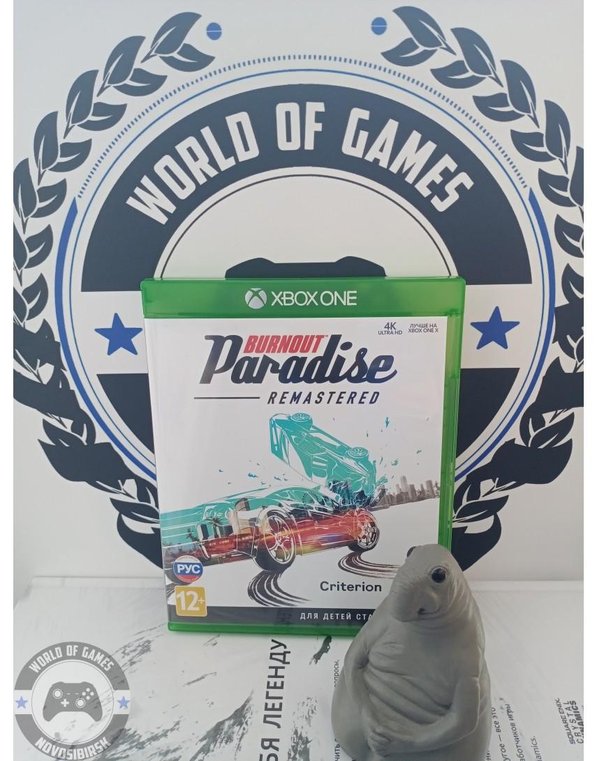 Burnout Paradise Remastered [Xbox One]