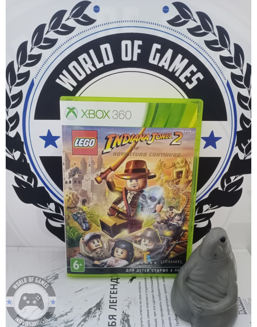 LEGO Indiana Jones 2 The Adventure Continues [Xbox 360]