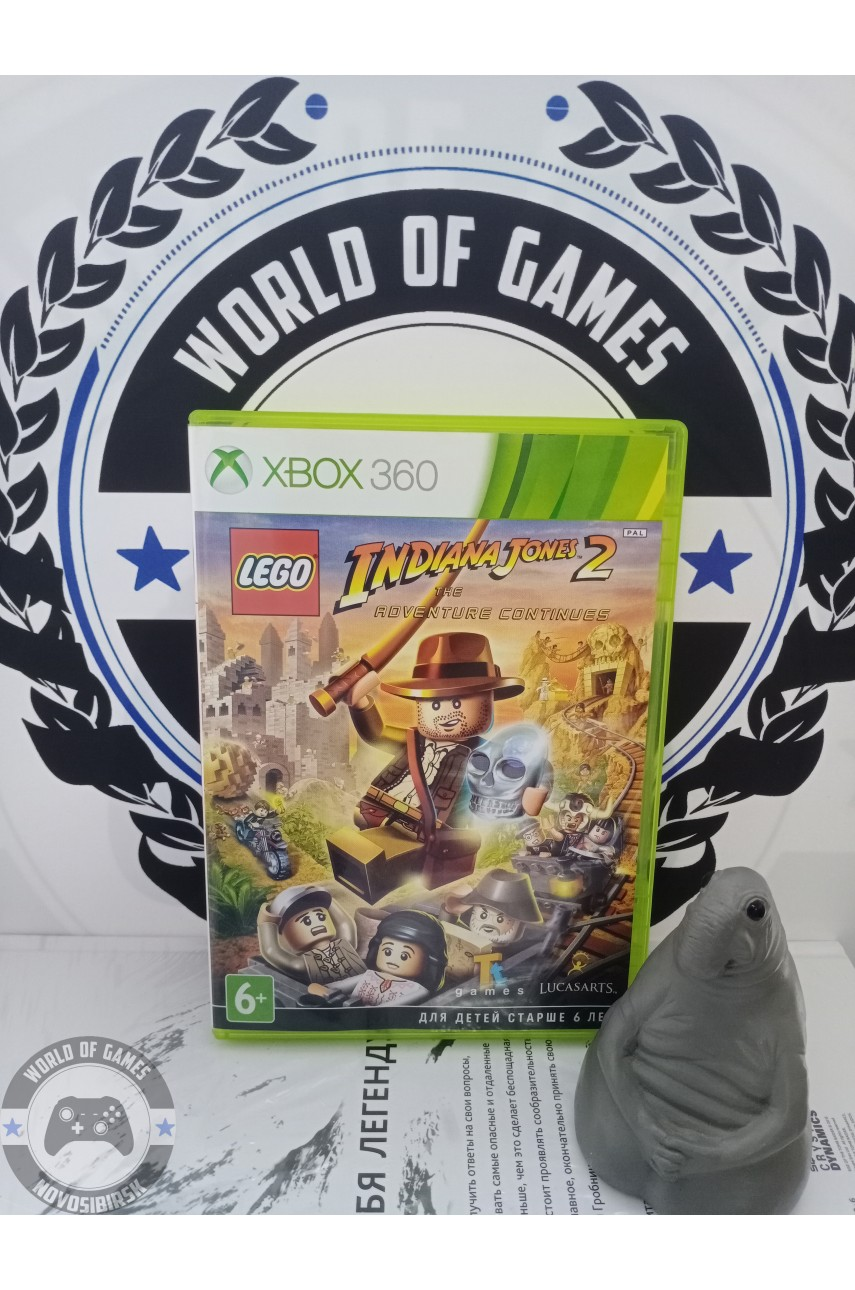 LEGO Indiana Jones 2 The Adventure Continues [Xbox 360]