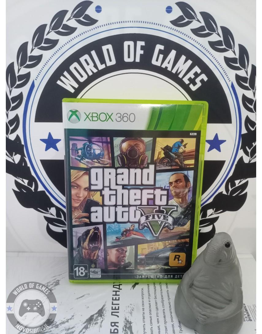 Grand Theft Auto 5 (GTA 5) [Xbox 360]