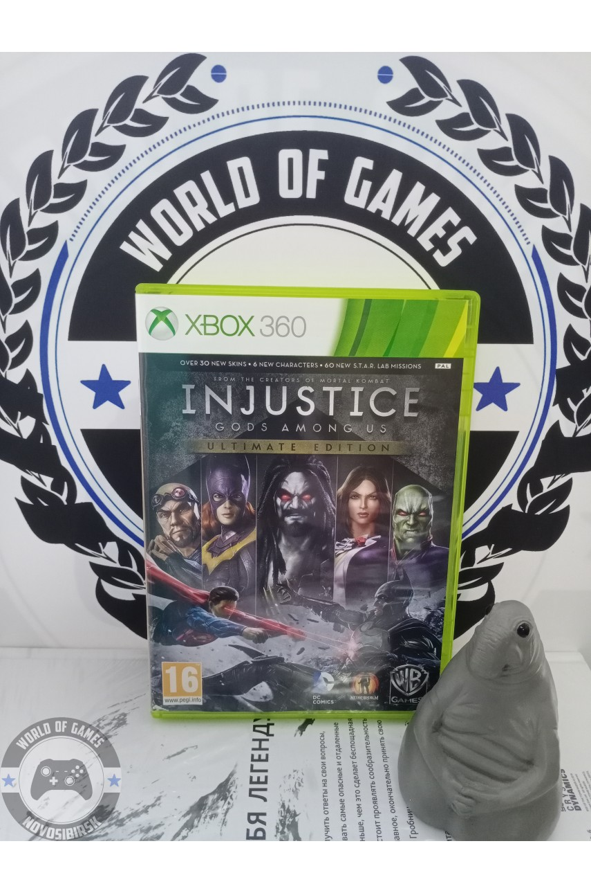 Injustice Gods Among Us [Xbox 360]