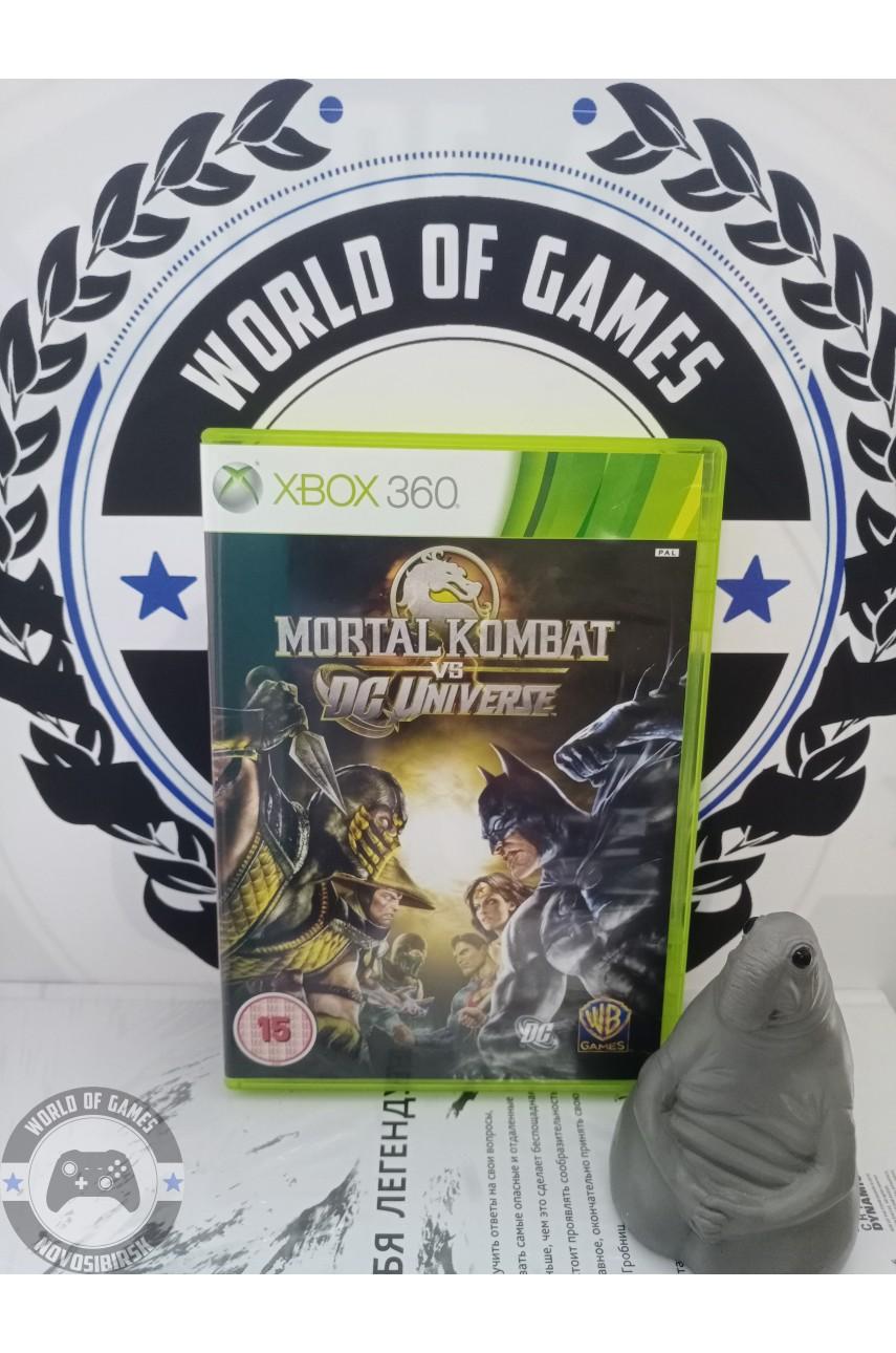 Mortal Kombat vs DC Universe [Xbox 360]